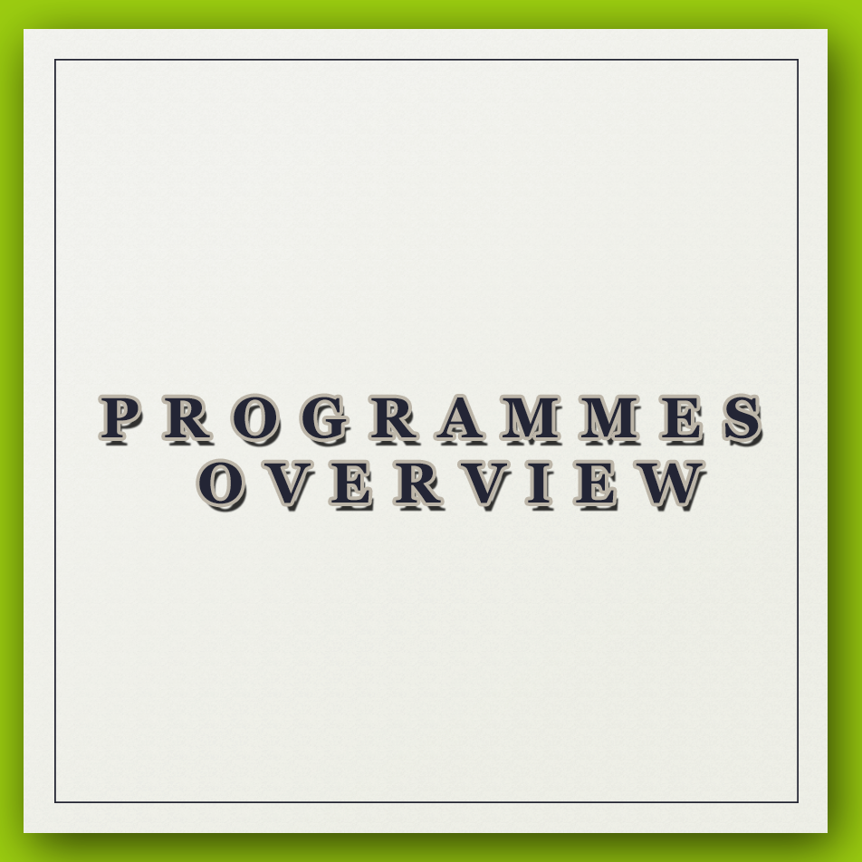 Programme tab information1